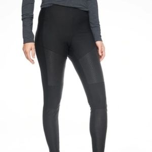 Athleta Madison Moto Tight Black 8P NWOT